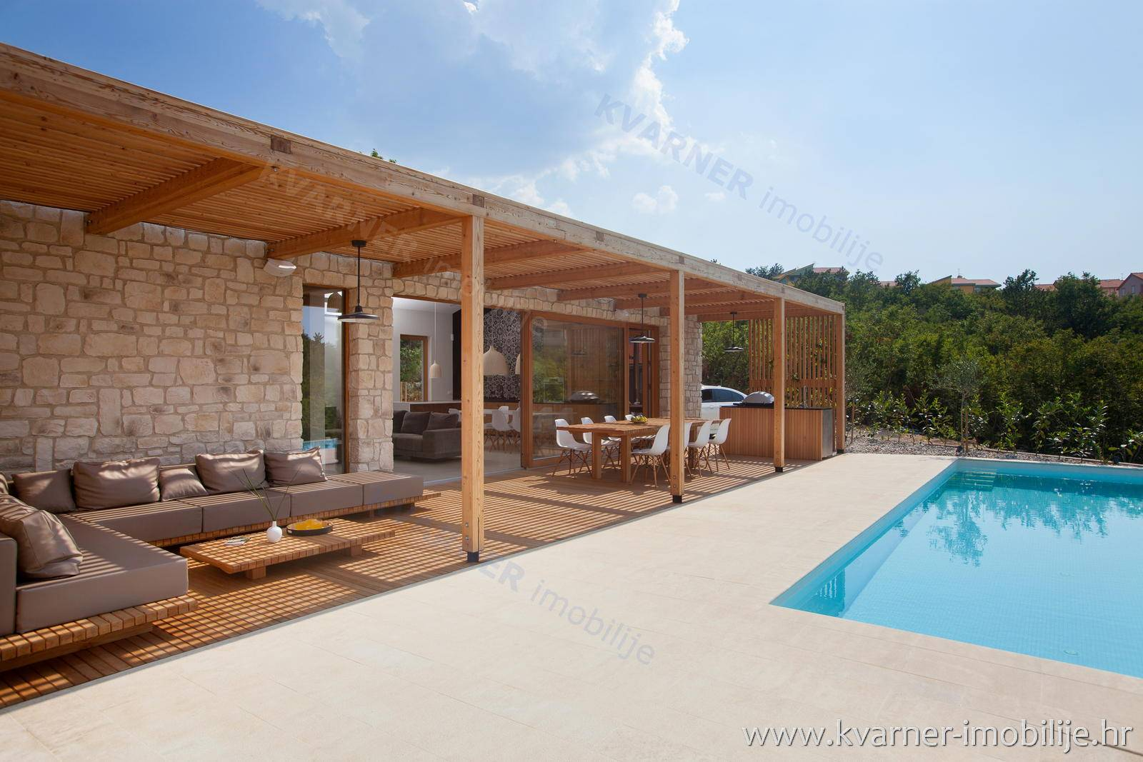 EXCLUSIVE!! New house, modern project with pool and open sea view!