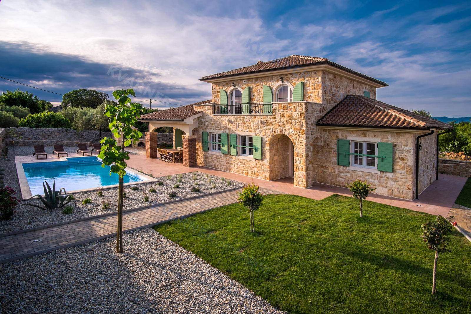 Krk - Luxury stone villa with pool | Kvarner imobilije
