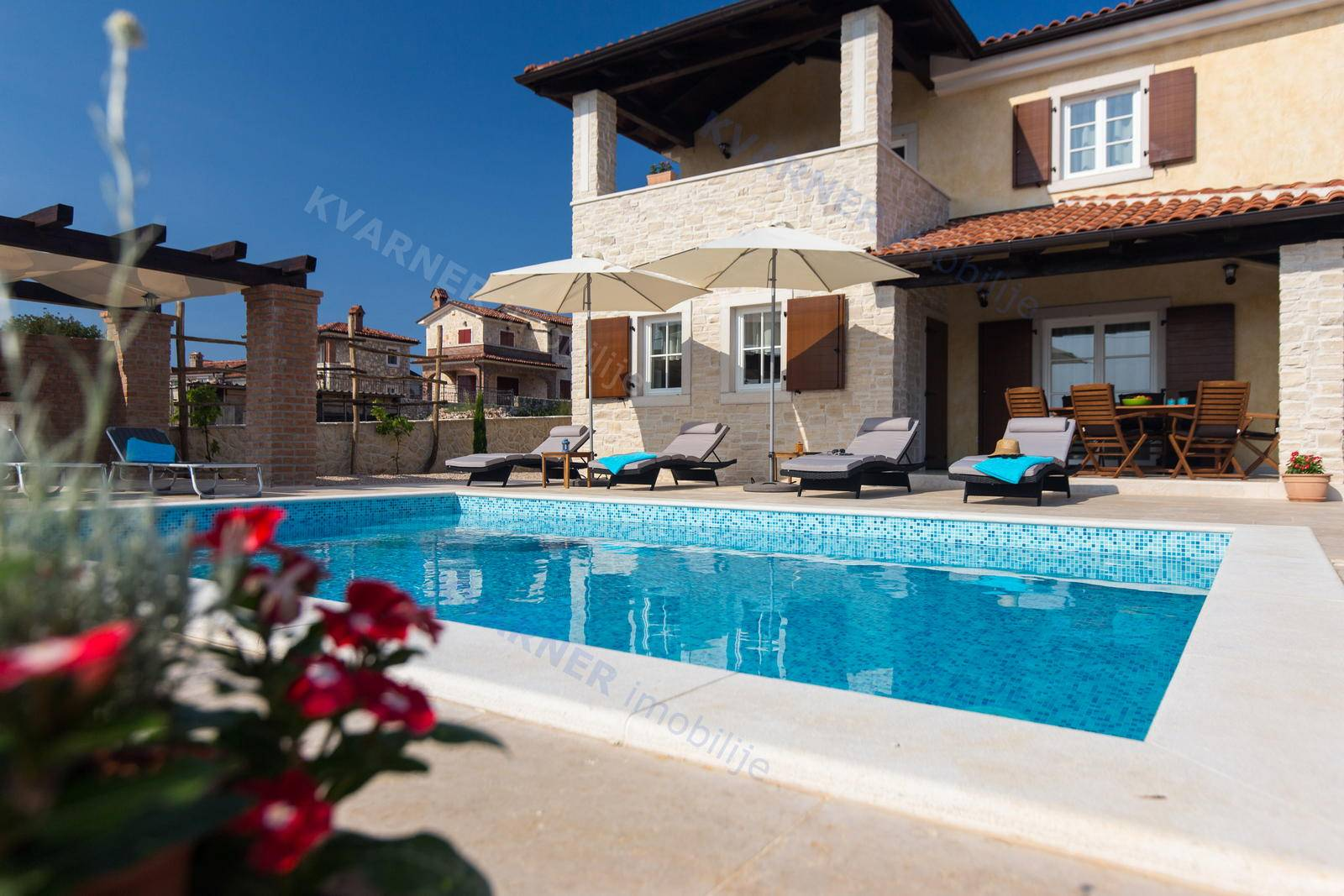 KRK - house with garden and swimming pool | Kvarner imobilije