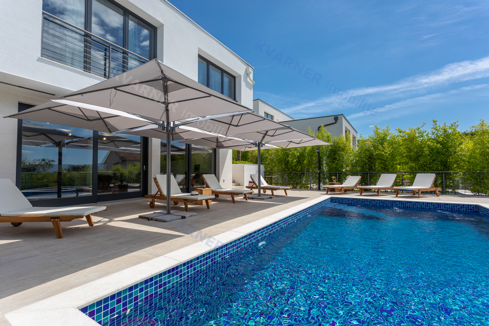 New modern villa with pool and sea view | Kvarner imobilije