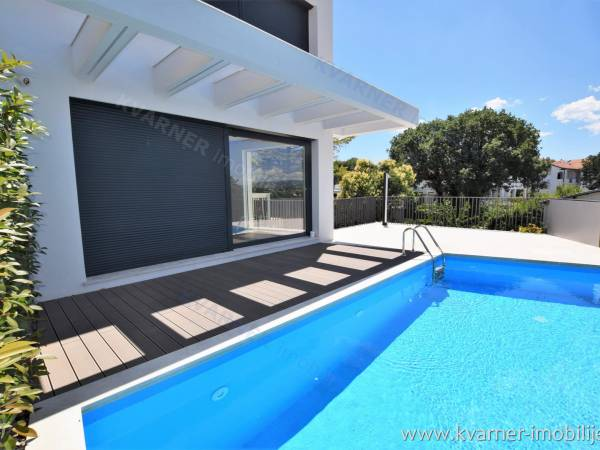 MALINSKA - EXCLUSIVE LOCATION - MODERN VILLA 200 METERS FROM THE SEA!