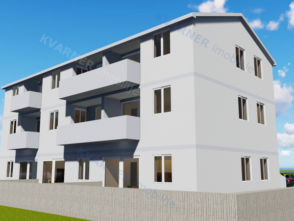 NEW! Apartment on the 1st floor in Malinska | Kvarner imobilije