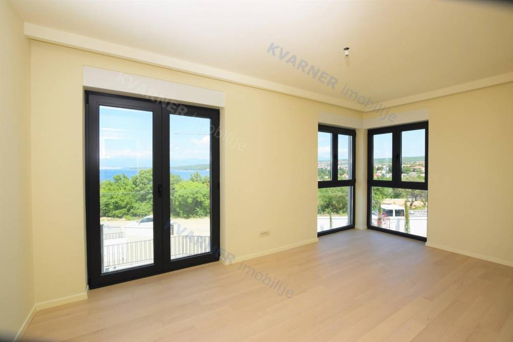 Apartment with sea view and pool! | Kvarner imobilije